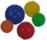 Balle hérisson   Ø 78 mm jaune